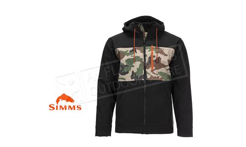 Simms Men's Rogue Hoody CX Woodland Camo #12654-569