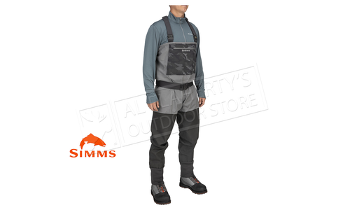Simms Men's Guide Classic Stocking Food Wader, Carbon #13360-003