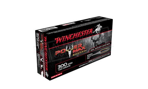 Winchester 300 WSM Power Max, Bonded HP 150 Grain Box of 20 #X300SBP