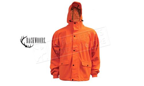 Backwoods Adventure Waterproof Hunt Jacket, Blaze #1415BL