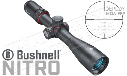 Bushnell Nitro Riflescope 2.5-10x44mm with Deploy MOA FFP Reticle #RN2104BF1