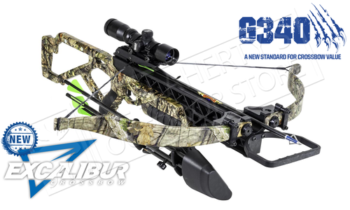 Excalibur G340 Crossbow in MOBUC Camo with Dead-Zone Scope #E73392