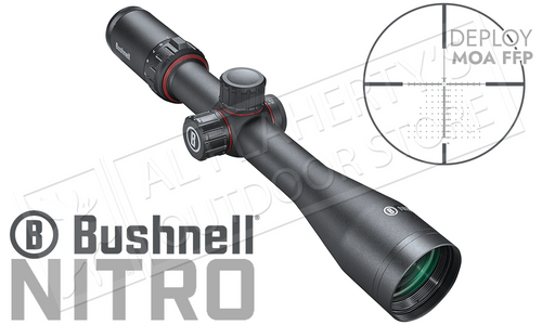 Bushnell Nitro Riflescope 5-20x44mm with Deploy MOA FFP Reticle