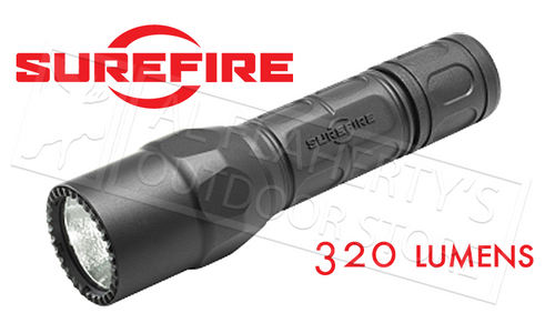 Surefire G2X Pro Dual-Output LED Flashlight 320 Lumen Black #G2X-D-BK