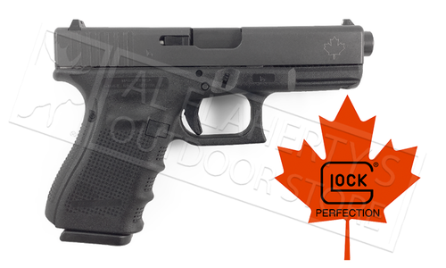 Glock 19 Gen4 9mm Pistol Canadian 106mm Variant with Glock Factory Barrel
