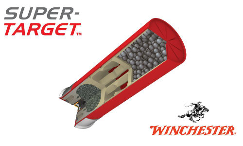 "12 GAUGE - WINCHESTER SUPER-TARGET, #7.5"", 2 3/4"", CASE OF 250"