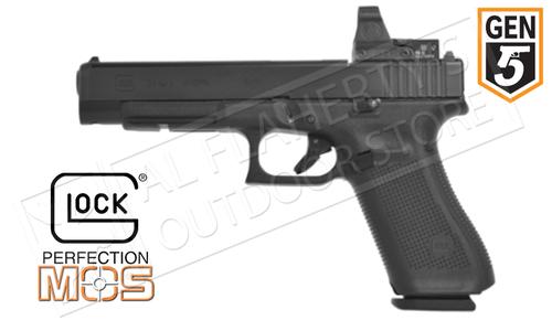 Glock 34 Gen5 MOS Optic Ready Pistol, 9mm #G34g5MOS