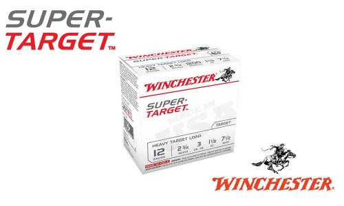 """12 GAUGE - WINCHESTER SUPER-TARGET, #8, 2-3/4"""", 1 OZ., CASE OF 250"""