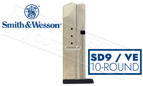 Smith & Wesson Magazine S&W SD9 and SD9VE 9mm Steel #397440000