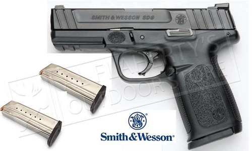 SMITH & WESSON SD9 SEMI AUTO PISTOL 9MM, 4.25
