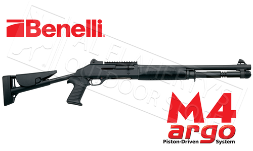 "Benelli M4 Tactical Shotgun with 18.5"" Barrel & Telescoping Stock #11707"