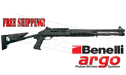 "BENELLI M4 TACTICAL SHOTGUN WITH 18.5"" BARREL & TELESCOPING STOCK"