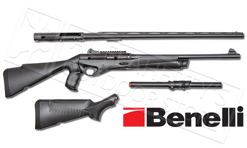 "BENELLI VINCI TACTICAL COMBO, 12G WITH 28"" AND 18.5"" BARRRELS"