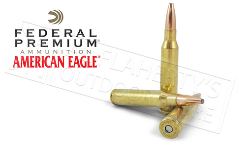 FEDERAL AMERICAN EAGLE AMMUNITION 338 LAPUA MAGNUM 250 GRAIN SOFT POINT BOX OF 20