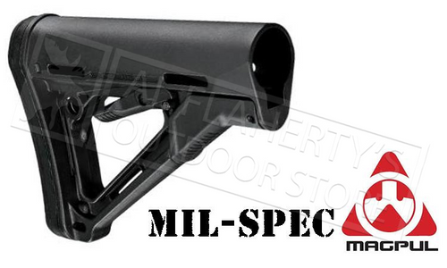 MAGPUL CTR CARBINE STOCK, MIL-SPEC BLACK