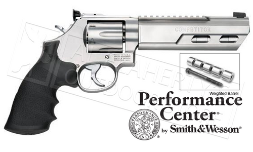 """SMITH & WESSON 686 COMPETITOR 6"""" WEIGHTED BARREL .357"""