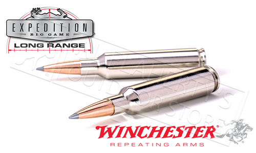 WINCHESTER 300 WIN MAG ACCUBOND EXPEDITION LR, POLYMER TIPPED BOAT-TAIL 190 GRAIN BOX OF 20