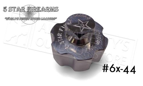 5 Star Firearms 6X-44 Speed Loader, 6-Shot .44 Caliber #NF04406000