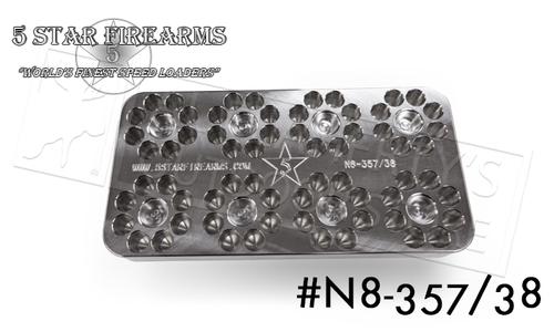 5 Star Firearms N8-357/38 Range Block, .357 Magnum 8-Shot 64-Round Capacity #NF04406