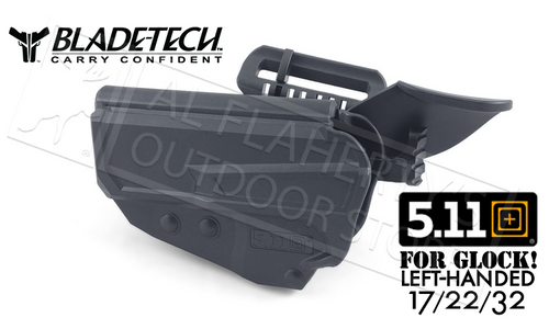 5.11 Blade-Tech L2 Retention ThumbDrive Holster, Left-Handed for Glock 17/22/32 #HOLX0065TDGL17BLKLH