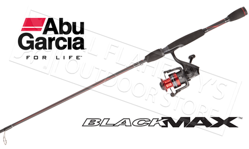 "Abu Garcia Black Max Spinning Combo, 6'6"" Medium Action 1-Piece #BMAXSP30/661M"