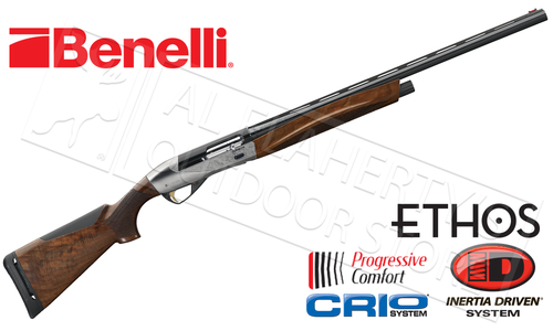 Benelli Ethos Shotgun, Engraved Silver Receiver #A04334