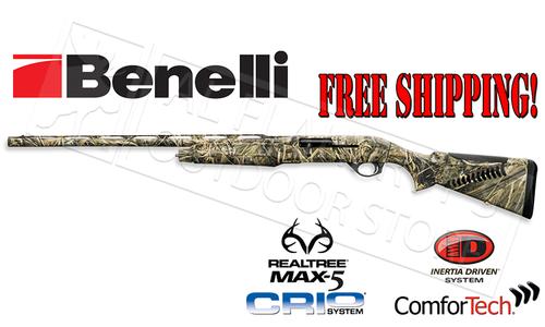 Benelli SG M2 Field Shotgun in MAX5 Camo, Left Handed