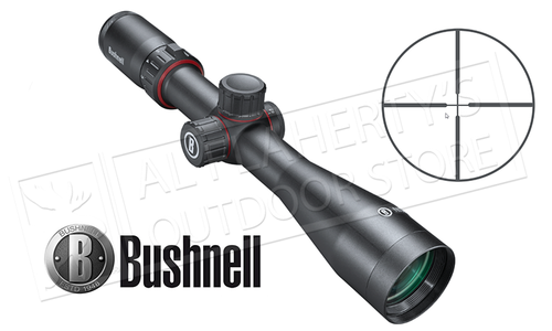 BUSHNELL NITRO RIFLESCOPE 3-12X44MM WITH MULTI-X SFP