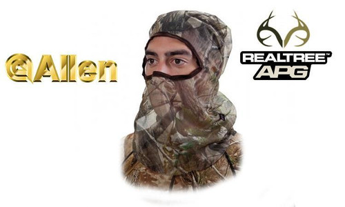 Allen Full Mesh Headnet Realtree APG #17516