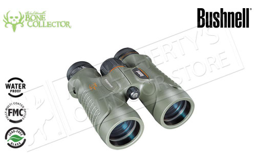 BUSHNELL 10X42 BONE COLLECTOR GREEN ROOF BINOCULAR