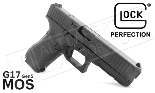 Glock 17 Gen 5 MOS Handgun with Fixed Sights