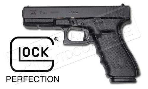 GLOCK 21 GEN4 FIXED SIGHT .45ACP