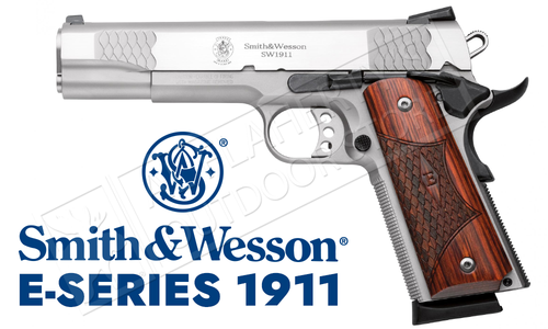 Smith & Wesson SW1911 E-Series, Stainless, .45ACP #108482