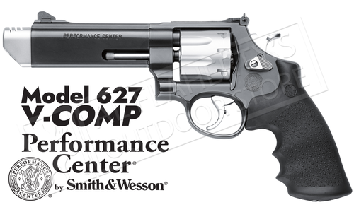 Smith & Wesson Model 627 V-Comp Revolver #170296
