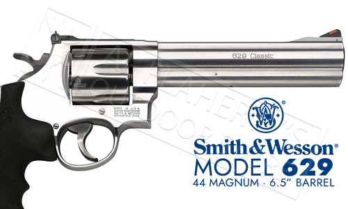 "Smith & Wesson 629 Revolver - 44 Magnum 6.5"" Barrel #163638"