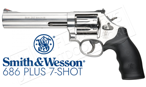 Smith & Wesson Model 686 Plus .357 Magnum, 7 Round #164198