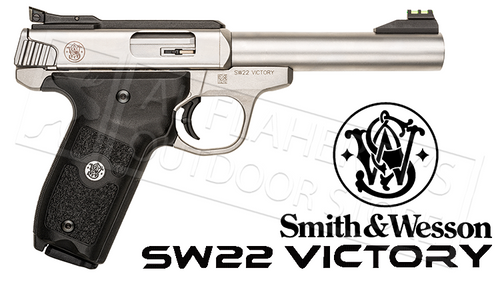 "SMITH & WESSON SW22 VICTORY TARGET PISTOL 22LR 5.5"" BARREL"