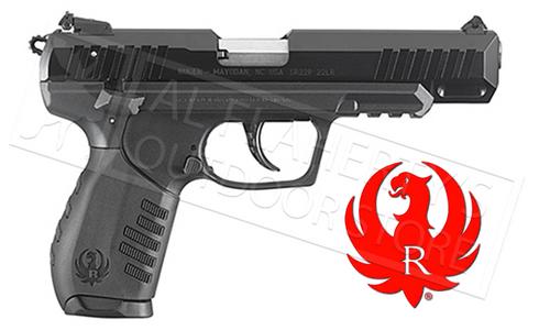 "RUGER SR22 RIMFIRE PISTOL, 22LR, 4.5"" BARREL"