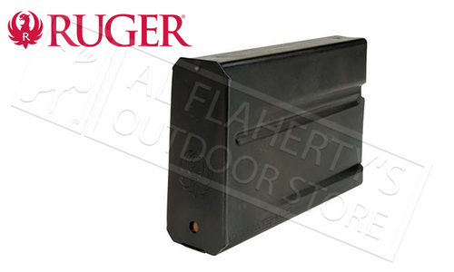 RUGER GUNSITE SCOUT RIFLE MAGAZINE 5.56(223) OR .308 WINCHESTER 10 ROUNDS STEEL BLUED FINISH