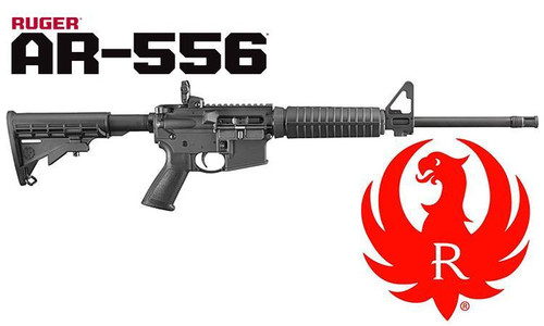RUGER AR-556 MODERN SPORTING RIFLE, 5.56X45