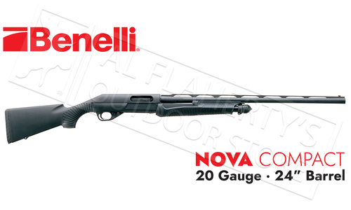 "Benelli Nova Compact-Youth Model 20 Gauge, 24"" Barrel, 3"" Chamber #20036"
