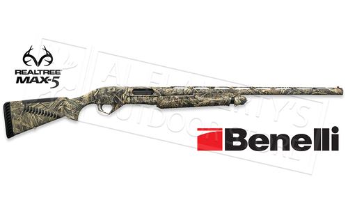 "Benelli Super Nova 12 Gauge, 28"" Barrel, 3.5"" Chamber, Max5 Camo with ComforTech #20115"