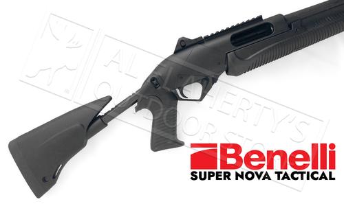 "Benelli Super Nova Tactical 12 Gauge, 14.5"" Barrel, 3.5"" Chamber, Telescoping Stock #a0389400"