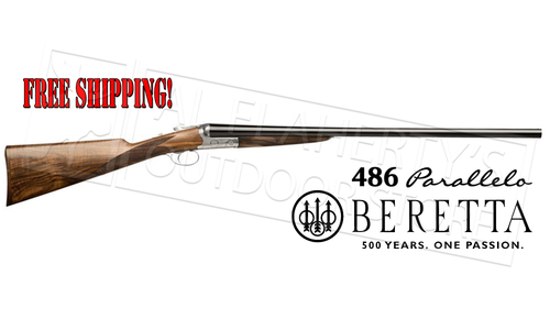 Beretta 486 Parallelo Side-by-Side Shotgun