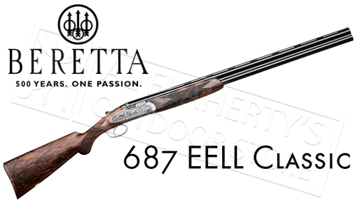 Beretta 687 EELL Classic Over-Under Shotgun