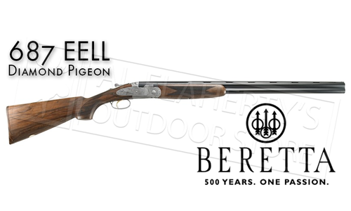 BERETTA 687 EELL DIAMOND OVER-UNDER SHOTGUN - FLORAL
