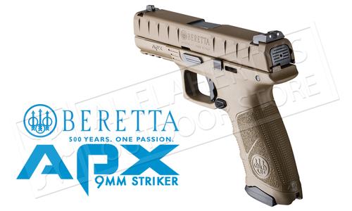Beretta Handgun APX FDE 9mm #PW32121315341