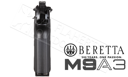 Beretta Handgun M9A3 Black Edition Made in Italy with Nightsights