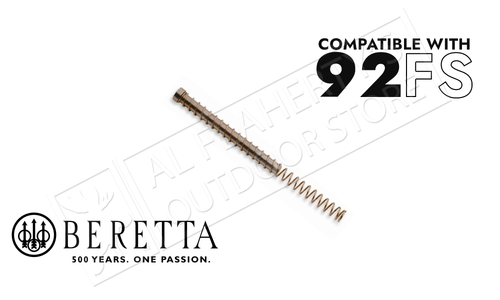 "Beretta Parts 92fs Solid Steel Recoil Spring Guide & Recoil Spring ""Gold Finish"" #E00189"