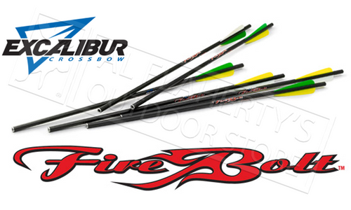 "EXCALIBUR FIREBOLT 20"" CARBON ARROWS 6-PACK"